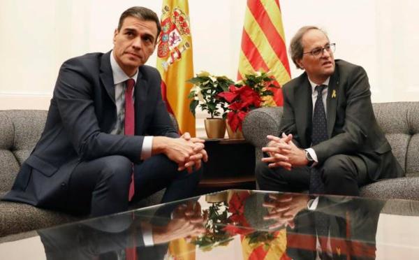 España es humillada por Pedro Sánchez en Cataluña