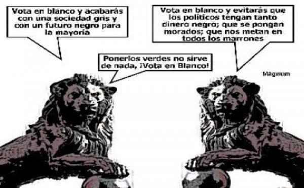 Record absoluto de visitas en Voto en Blanco