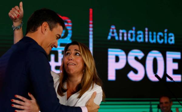 El socialismo andaluz, indignado y enfrentado a Pedro Sánchez en vísperas de las generales