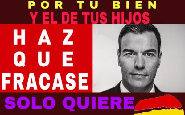 Sánchez, con miedo, no quiere debatir