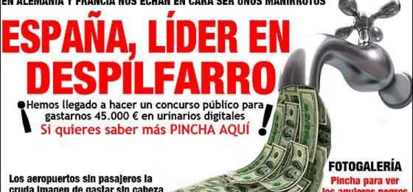 La enorme deuda española financia el poder político