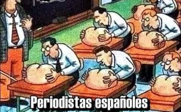 """Periodismo español vergonzante de """"talón al portador"""""""