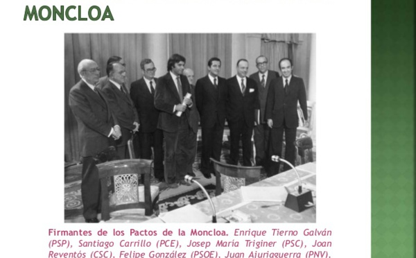 """Los tramposos """"Pactos de la Moncloa"""" de Sánchez deben ser boicoteados"""