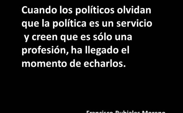 El combate de Voto en Blanco contra el mal gobierno y la tiranía en la España actual