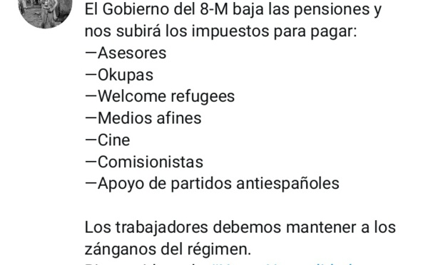 Los españoles trabajan para mantener a millones de zánganos