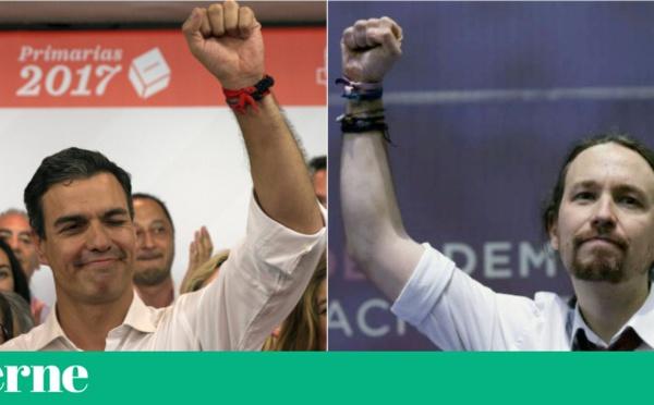 Pedro Sánchez y Pablo Iglesias, unidos por el odio